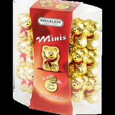 Minis oursons 33% cacao RIEGELEIN, étui de 20, 100g