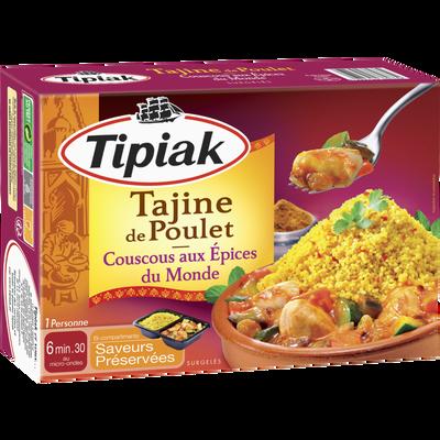 Tajine poulet couscous épice du monde TIPIAK, 310g