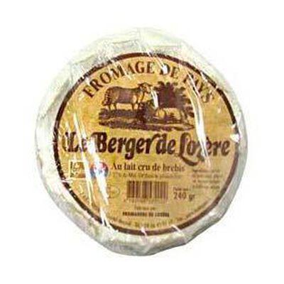 """Fromage de brebis de pays au lait cru """"Le Berger de Lozère"""", 27%MG, 240g"""
