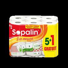 Sopalin Essuie-tout Sur Mesure Décoré , X5+1 = 12rouleaux