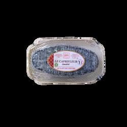 Le Caprifleur Cendré, SEVRE ET BELLE, lait pasteurisé de Chèvre, 25% Mat.Gr, 120g