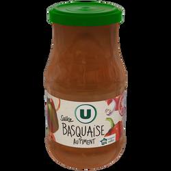 Sauce basquaise U, bocal de 446ml soit 420g