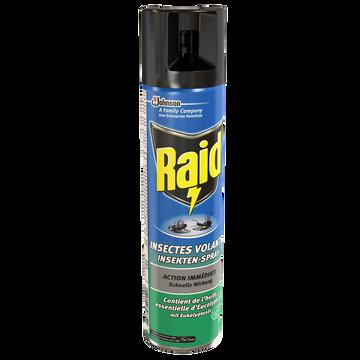 Raid Insecticide Spécial Volants À L'eucalyptus Raid, Aérosol De 400ml