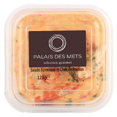 Salade écrevisses - chair de poisson 120g