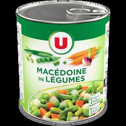 Macédoine de légumes U, boîte de 530g ouverture facile