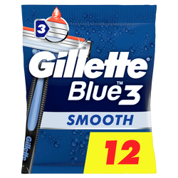 Rasoir jetable blue 3 smooth GILLETTE 3x4