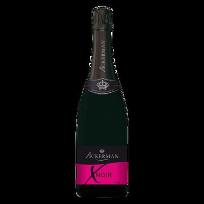 """Vin mousseux brut rosé  """"X Noir"""" ACKERMAN, 75cl"""