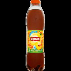 LIPTON Ice tea pêche abricot, bouteille de 1,5l