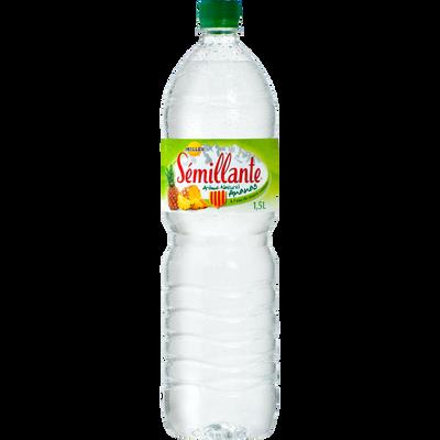 Eau de source à l'ananas SEMILLANTE, bouteille 1.50l