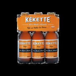 Bière blonde KEKETTE, 6,2°, 3 bouteille de 33cl
