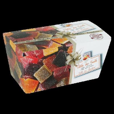 Ballotin de pâtes de fruits 6 parfums LUCIEN GEORGELIN, 300g