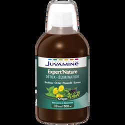 Expert'nature détox élimination, bouleau, ortie, pissenlit, sureau JUVAMINE, 500 ml