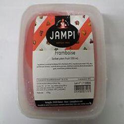 Sorbet plein fruit de framboise JAMPI, bac de 550ml