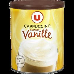 Cappuccino saveur vanille U, boîte de 225g