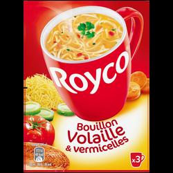 Bouillon de volaille et vermicelles Minute soup' ROYCO , 60cl