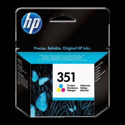 Cartouche d'encre HP pour imprimante, CB337EE couleur n°351, 3,5ml, sous blister