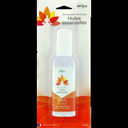 Spray Tonic, AIR SPA, à base d'huiles essentielles de citron, menthe poivrée, génévrier, romarin et thym