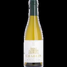 Vin blanc AOC CHABLIS, bouteille de 37,5cl