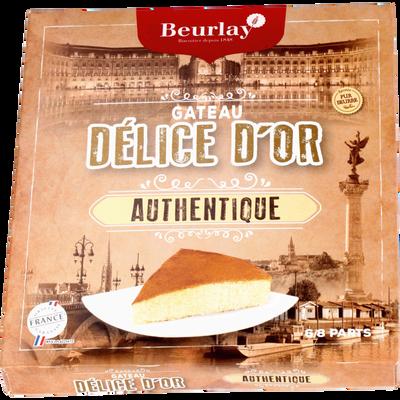 Gâteau délice d'or pur beurre BEURLAY, étui de 320g