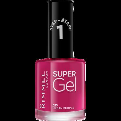 Vernis à ongle super gel by Kate urban purple 025 RIMMEL,  12ml