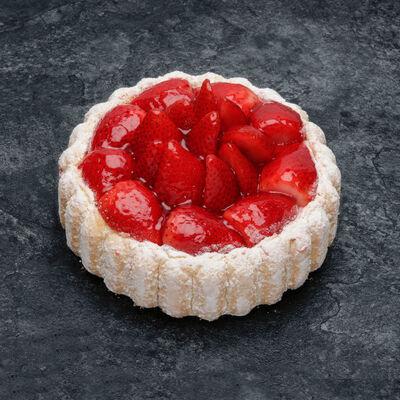 Charlotte aux fraises décongelé, 6 parts, 600g