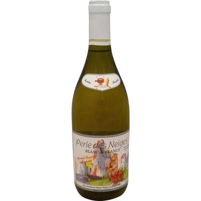 Vin blanc de France Perle des Neiges, Bouteille de 75cl
