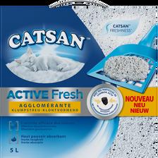 Litière pour chat active fresh CATSAN, sac de 5l
