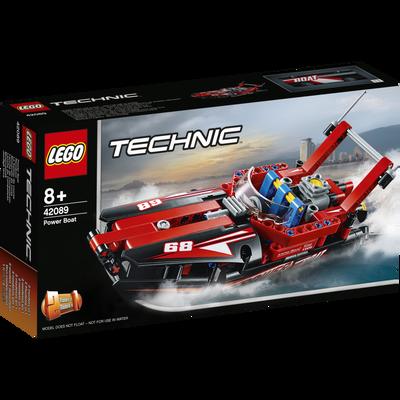 Le bateau de course LEGO Technic