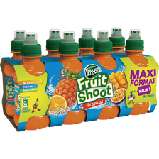 Fruit shoot tropical TEISSEIRE, 8 bouteilles de 20cl