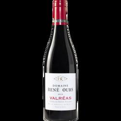 Vin rouge AOP Côtes du Rhône villages Valréas Domaine René Ours, 75cl