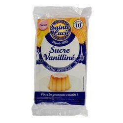 Sucre vanilliné SAINTE LUCIE, 10 sachets, 75g