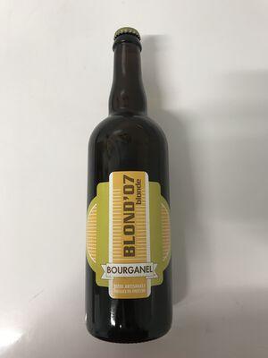 Bière blonde artisanale Bourganel blond'07 75cl