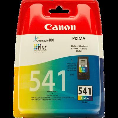 Cartouche d'encre CANON pour imprimante, CL 541 couleur, sous blister