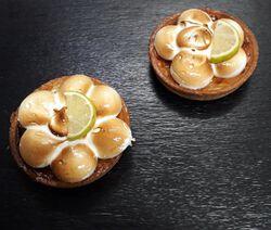 Tartellette citron meringuée - FABRIQUE DANS NOS ATELIERS - 2 parts
