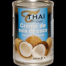Crème de coco THAI HERITAGE, 400ml