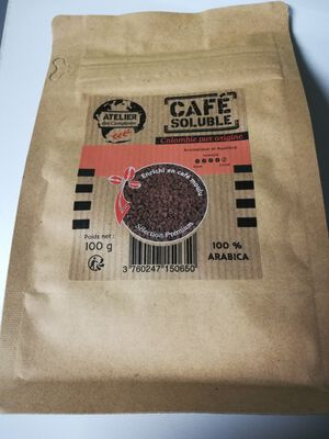 CAFE SOLUBLE COLOMBIE ATELIER DES COMPTOIRS