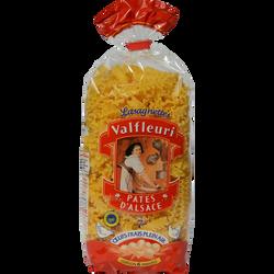 Lasagnette IGP pâtes d'Alsace VALFLEURI, paquet de 250g