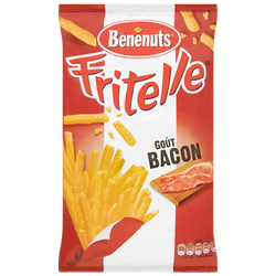 Soufflés apéritif goût bacon FRITELLE, 80g