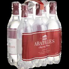 Eau minérale naturelle pétillante Abatilles 6x1 litres