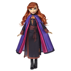 La Reine des Neiges 2 - Elsa avec ses longs cheveux blonds - 27cm -Dès 3 ans