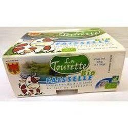 Faisselle bio au lait entier 4x100g Laiterie La Tourette