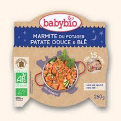Ass Bonne nuit marmite patate douce et blé BABYIO dès 15 mois 260g