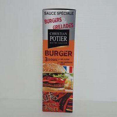 Sauce burger CHRISTIAN POTIER sachets 3x50g