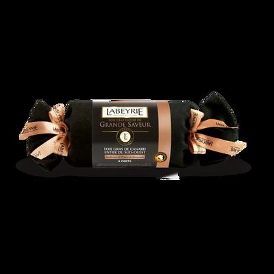 Foie gras de canard entier du sud ouest cuit au torchon au sauternes et poivre de sarawak LABEYRIE, 160g