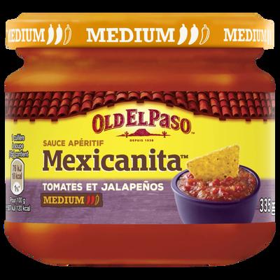 Sauce dip mexicanita OLD EL PASO, bocal de 335g
