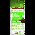 Ethiquable Café Moulu Pure Origine Equateur Bio Ethiquable, 250g