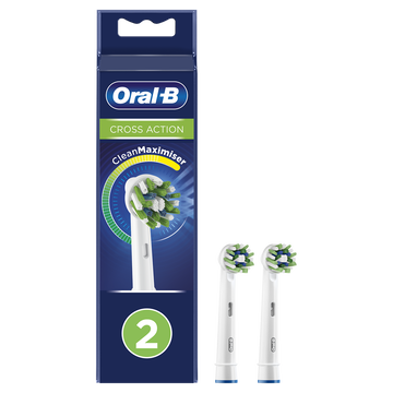 Oral B Brossettes Cross Action Oral B Power 2x2