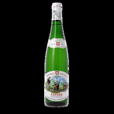 Vin blanc de Savoie Crepy Le Caquelon, bouteille de 75cl