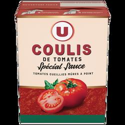Spécial sauce coulis U, boîte de 390g