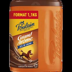 Chocolat en poudre grand arôme POULAIN, 1,1kg